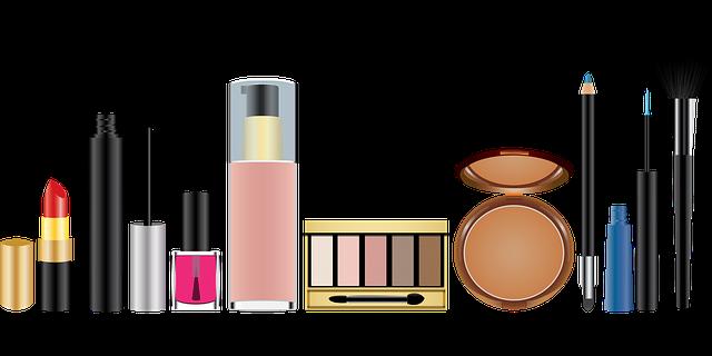 kosmetické potřeby